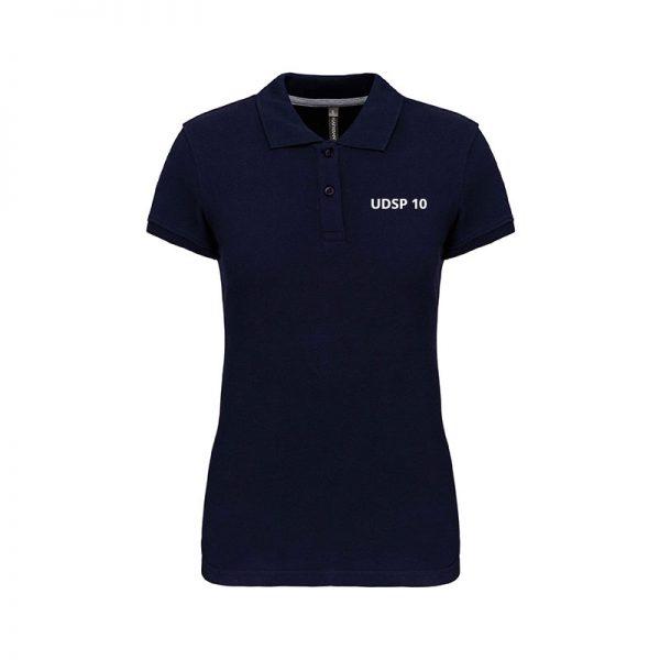 femme-polo-navy-udsp10
